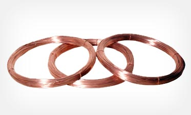 Copper earthing wires and strips