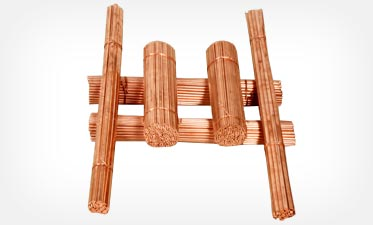 Copper rods and strips for submersible pumps and motors